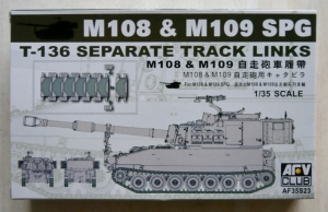 AFV CLUB 1/35 35S23 M108   M109 SPG T-136 SEPERATE TRACK LINKS