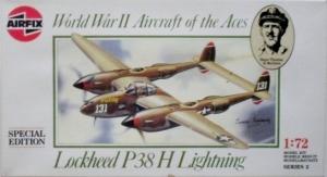 AIRFIX 1/72 02088 LOCKHEED P-38H LIGHTNING SPECIAL EDITION