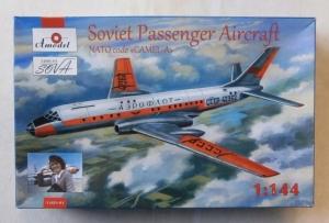A MODEL 1/144 1469-01 SOVIET PASSENGER AIRCRAFT CAMEL A