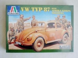 ITALERI 1/35 6426 VW TYP 87 W/AFRIKA KORPS TROOPS