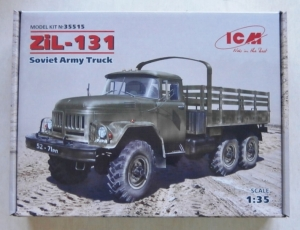 ICM 1/35 35515 ZIL-131 SOVIET ARMY TRUCK