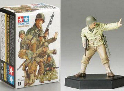 TAMIYA 1/35 26006 U.S. ASSAULT INFANTRY NON COMMISSIONED OFFICER A