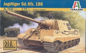 ITALERI 1/72 7030 JAGDTIGER Sd.Kfz.186