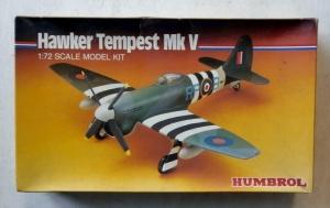 HUMBROL 1/72 72010 HAWKER TEMPEST Mk.V