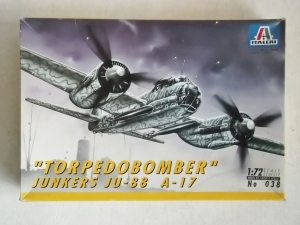 ITALERI 1/72 038 JUNKERS Ju 88 A-17 TORPEDOBOMBER