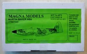 MAGNA 1/72 6372 MARTIN BAKER MB5
