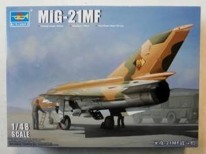 TRUMPETER 1/48 02863 MiG-21MF