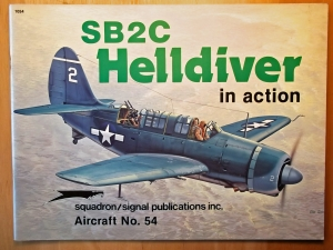 SQUADRON/SIGNAL AIRCRAFT IN ACTION  1054. SB2C HELLDIVER