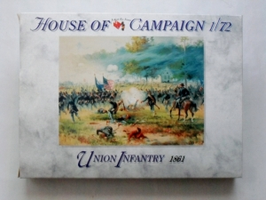 CALL TO ARMS 1/72 55 UNION INFANTRY 1861