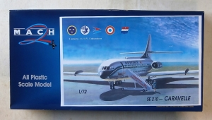 MACH 1/72 023 SE 210 CARAVELLE  UK SALE ONLY