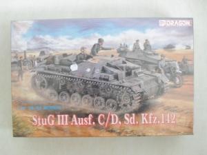 DRAGON 1/35 6009 StuG III Ausf.C/D Sd.Kfz 142