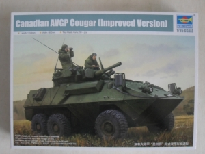 TRUMPETER 1/35 01504 CANADIAN AVGP COUGAR  IMPROVED VERSION