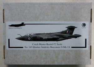 CZECH MASTER RESIN 1/72 143 HAWKER SIDDELEY BUCCANEER S.Mk.2A