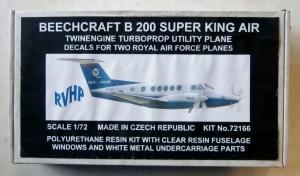 RVHP 1/72 72166 BEECHCRAFT B200 SUPER KING AIR
