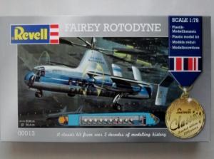 REVELL  00013 FAIREY ROTODYNE 1/78