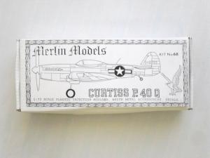 MERLIN 1/72 68 CURTISS P-40Q