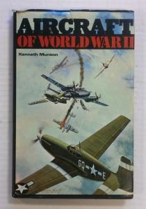 CHEAP BOOKS  ZB724 AIRCRAFT OF WORLD WAR II