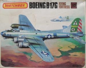 MATCHBOX 1/72 PK-603 BOEING B-17G FLYING FORTRESS