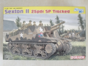 DRAGON 1/35 6760 SEXTON II 25pdr SP TRACKED
