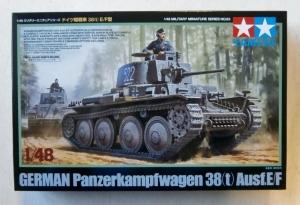 TAMIYA 1/48 32583 GERMAN Pz.Kpfw 38 t  Ausf.E/F