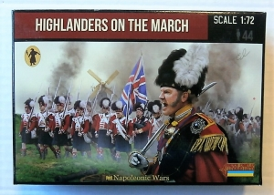 STRELETS 1/72 140 HIGHLANDERS ON THE MARCH