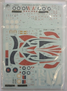 ALLEY CAT 1/72 1305. 72010 TUCANO DISPLAY AIRCRAFT FOR 2012/2013