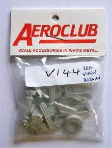 AEROCLUB 1/72 V144 D.H SEA VIXEN DETAIL SET