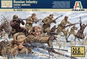 ITALERI 1/72 6069 WWII RUSSIAN INFANTRY WINTER UNIFORM