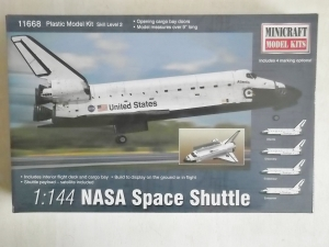 MINICRAFT 1/144 11668 NASA SPACE SHUTTLE