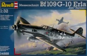 REVELL 1/32 04888 MESSERSCHMITT Bf 109 G-10 ERLA HARTMANN