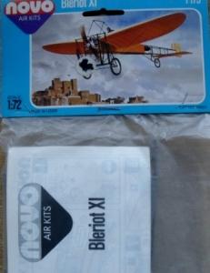 NOVO 1/72 F173 BLERIOT XI