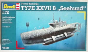 REVELL 1/72 05125 GERMAN SUBMARINE TYPE XXVII B SEEHUND