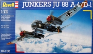 REVELL 1/72 04130 JUNKERS Ju 88A-4/D-1