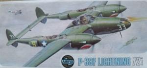 AIRFIX 1/72 03018 P-38F LIGHTNING