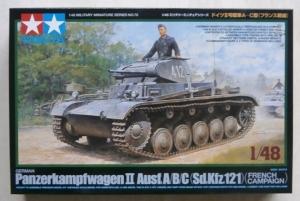 TAMIYA 1/48 32570 PANZERKAMPFWAGEN II Ausf.A/B/C  Sd.Kfz.121