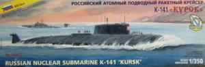 ZVEZDA 1/350 9007 RUSSIAN NUCLEAR SUBMARINE K-141 KURSK