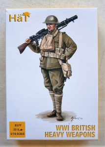 HAT INDUSTRIES 1/72 8177 WWI BRITISH HEAVY WEAPONS