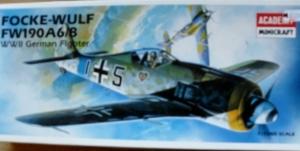 ACADEMY 1/72 2120 FOCKE-WULF Fw 190 A6/A8
