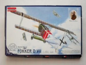 RODEN 1/72 035 FOKKER D.VII ALB LATE