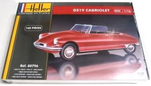 HELLER 1/16 80796 CITROEN DS19 CABRIOLET  UK SALE ONLY