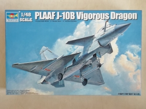 TRUMPETER 1/48 02848 PLAAF J-10B VIGOROUS DRAGON