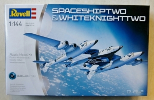 REVELL 1/144 04842 SPACESHIP TWO   WHITE KNIGHT TWO