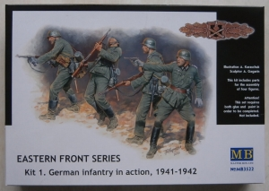MASTERBOX 1/35 3522 EASTERN FRONT SERIES GERMAN INFANTRY IN ACTION 1941-42