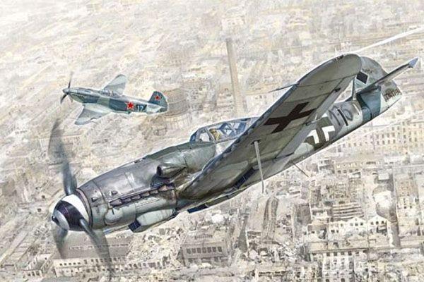 ITALERI 1/48 2805 Bf 109 K-4