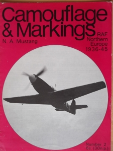 CAMOUFLAGE   MARKINGS  02. N.A. MUSTANG RAF NORTHERN EUROPE 1936-45