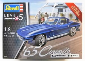 REVELL 1/8 07434 1965 CORVETTE  UK SALE ONLY