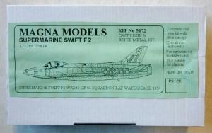 MAGNA 1/72 5172 SUPERMARINE SWIFT F.2