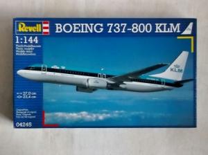 REVELL 1/144 04245 BOEING 737-800 KLM
