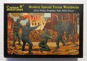 CAESAR MINATURES 1/72 061 SPECIAL FORCES WORLDWIDE