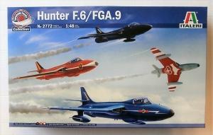ITALERI 1/48 2772 HAWKER HUNTER F.6/ FGA.9
